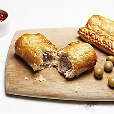The Real Pie Company 12 Piece Assorted Sausage Roll Selection