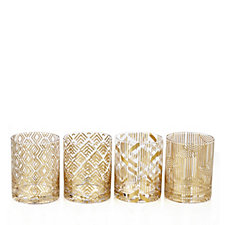 JM by Julien Macdonald Deco Collection 4 Piece Tumbler Set