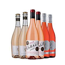Laithwaite's Wine 6 Bottles Rose Case