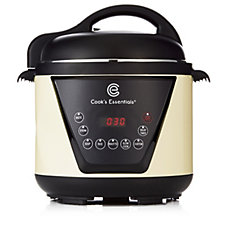 Cook's Essentials 4L Digital Pressure Cooker