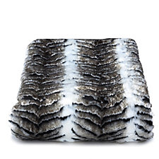 805441 - JM by Julien Macdonald Safari Collection Faux Fur Throw
