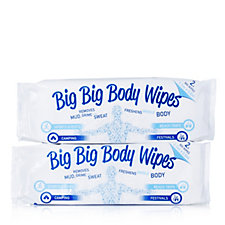 804442 - Mrs Gleam Set of 2 Big Body Wipes