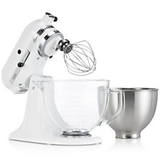 805442 - KitchenAid K45 Classic Mixer with Additional Glass Bowl