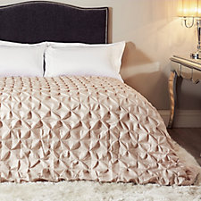 JM by Julien Macdonald Signature Ruffle Satin Bedcover