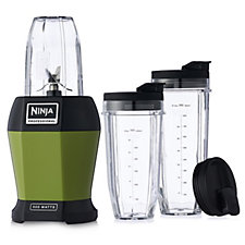 Nutri Ninja BL450 Blender with 3 Sip & Seal Cups and Recipe Guide