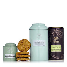 Whittard of Chelsea 3pc Pastels Hot Chocolate, Biscuit & Tea Collection