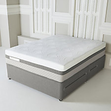 Sealy Posturepedic Hybrid Advantage Geltex 2000 Divan Bed with Drawers