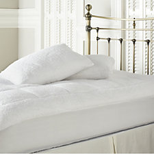 Cozee Home Ultra Fluffy Mattress Topper & Pillow Protector Set