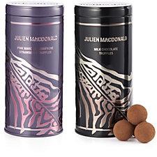 807148 - Artisan du Chocolat Julien Macdonald Set of 2 Chocolate Tins