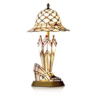 Tiffany Style Handcrafted Hat Shoe Amp Umbrella Table Lamp
