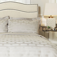 805149 - Kelly Hoppen 1200TC Egyptian Cotton Capri Jacquard 6 Piece Duvet Set