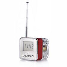 Mini Travel Radio With Built in Speaker