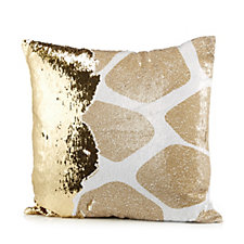 JM by Julien Macdonald Safari Giraffe Reversible Sequin Cushion
