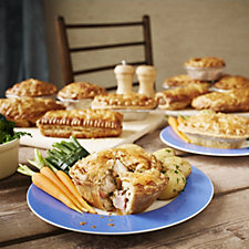 The Real Pie Company 12 Piece Assorted Favourites Selection