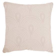Kelly Hoppen Bali Embroidered Reversible Cushion