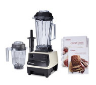 Vitamix 2L TurboBlend with 0.9L Dry Grains Container & Cook Book