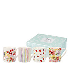 Collier Campbell Set of 4 Mugs in Gift Box