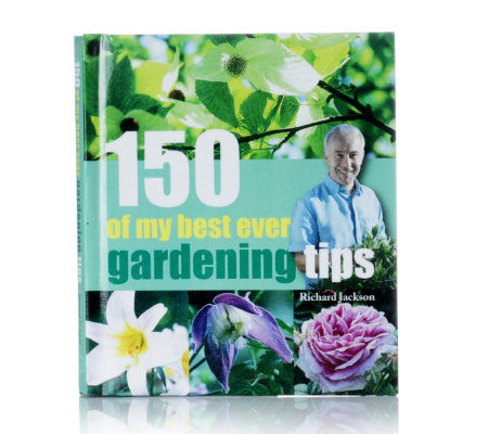 Richard Jacksons 150 Top Gardening Tips Hardback Book