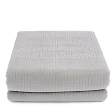 804156 - Kelly Hoppen Madison Embroidered Reversible Bedcover