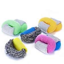 Scrubrite Set of 8 Regular & Heavy Duty Scourers Kit