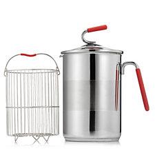 806656 - Kuhn Rikon Stainless Steel Multi Pot with Lid & Steamer Basket