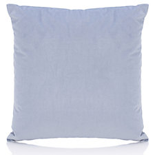 Alison Cork Velvet Cushion with Linen Cotton Reverse