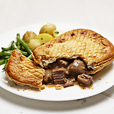 The Real Pie Company 10 Piece Assorted Steak Pie Selection