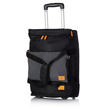 805058 - Travel Style Printed Wheeled Carry-On