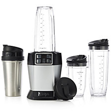 Nutri Ninja BL480 Auto IQ Blender, 3 Cups & Stainless Steel Cup