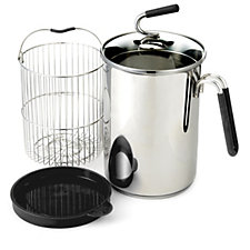 804660 - Kuhn Rikon Stainless Steel 1.5L Multi Pot with Basket, Lid and Trivet