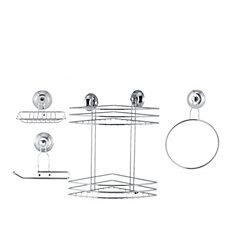 Beldray Suction & Shower Basket Set