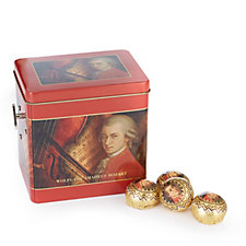 Lambertz 680g Mozart Musical Tin Filled with Mozartkugelen