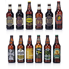 Best of British Beer 12 Piece English Scottish & Welsh Selection