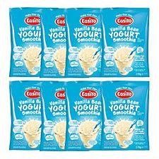 EasiYo Pack of 8 Vanilla Bean Yoghurt Smoothie 170g Sachets