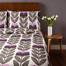 Orla Kiely Scribble Rosebud Duvet Cover & 2 Pillowcases