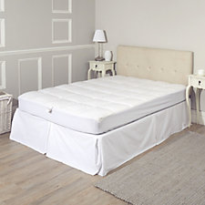 Northern Nights Cozyloft Down Blend Mattress Pad with Silver