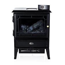 Dimplex Gosford Log Effect Stove Fan Heater w/Opti-myst Flame