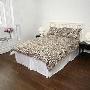 northern nights boudoir flannel 4pc duvet set. Black Bedroom Furniture Sets. Home Design Ideas