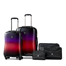 Heys Fashion Spinners 2 pc Luggage Set with 3 Packing Cubes