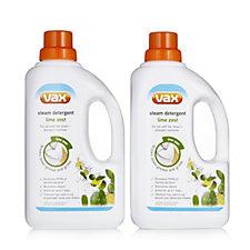 Vax Steam Detergent 1L Twin Pack