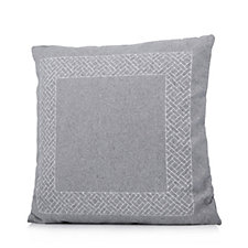 Kelly Hoppen Embroidered Wool Mix Cushion