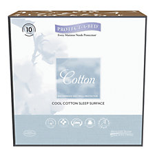 Protect-A-Bed Jersey Cotton Cool 2 in 1 Sheet & Protector with 2 Pillows