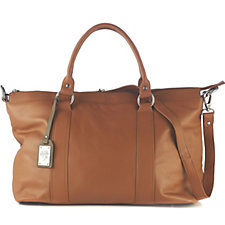 Amanda Lamb Leather Holdall