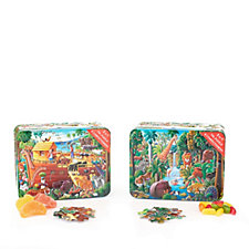 Churchill's Confectionery Nature's Friends & Noah's Ark Tins with Jellies