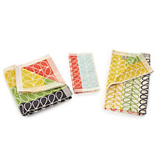 Orla Kiely Flower Stripe 3 Piece Towel Bale Set