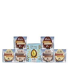 Joe & Seph's Divine Milk Chocolate Egg with 6 Assorted Popcorn Bags