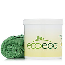 Ecoegg Supersize Hard Surface Cleaner 1KG 2 Microfibre Cloths