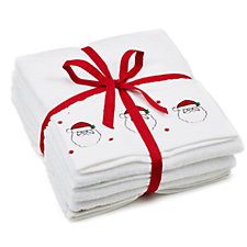 Christmas 100% Cotton Hand Towels & Bath Mat