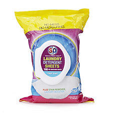 S2O 100pc All in One Laundry Detergent Sheets