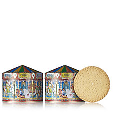 Churchill's Confectionery 2 Piece Magic Carousel Tins with Shortbread